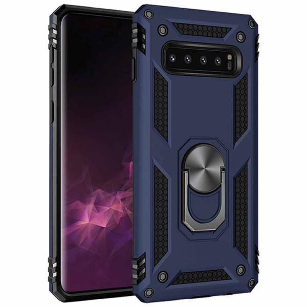Compatible Ring Armor Case For Samsung Galaxy S10