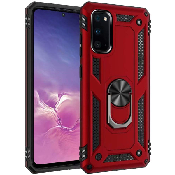 Compatible Ring Armor Case For Samsung Galaxy S20
