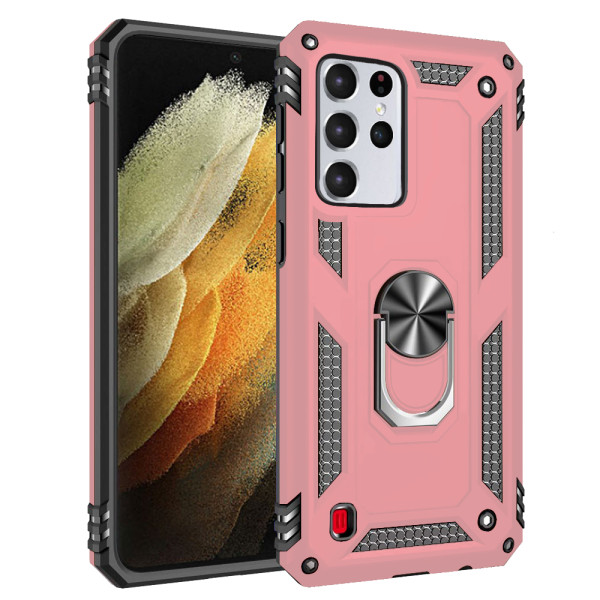 Compatible Ring Armor Case For Samsung Galaxy S21 Ultra