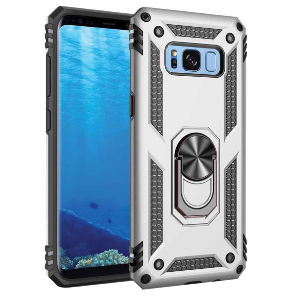 Compatible Ring Armor Case For Samsung Galaxy S8 Plus