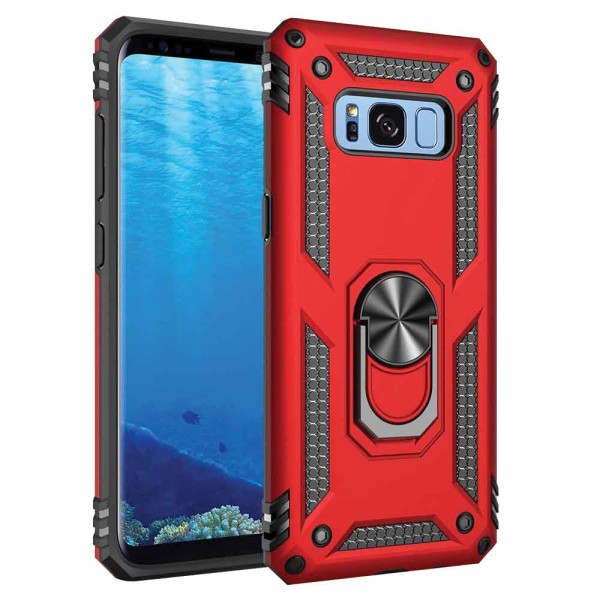 Compatible Ring Armor Case For Samsung Galaxy S8 SM-G950