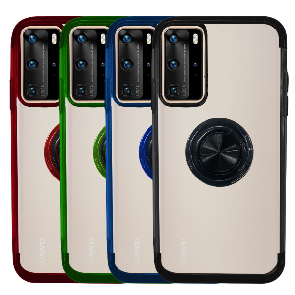 Compatible Ring Case For Huawei P40 Pro