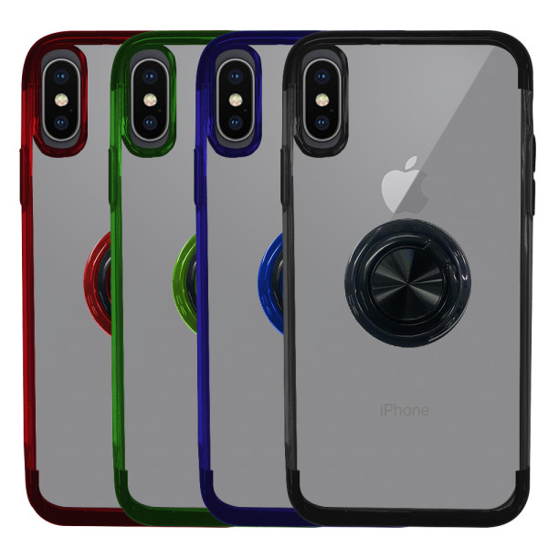 Compatible Ring Case For iPhone X