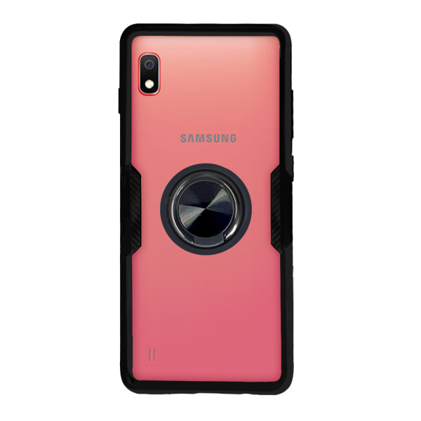 Compatible Ring Cover Case For Samsung Galaxy A01 SM-A015F