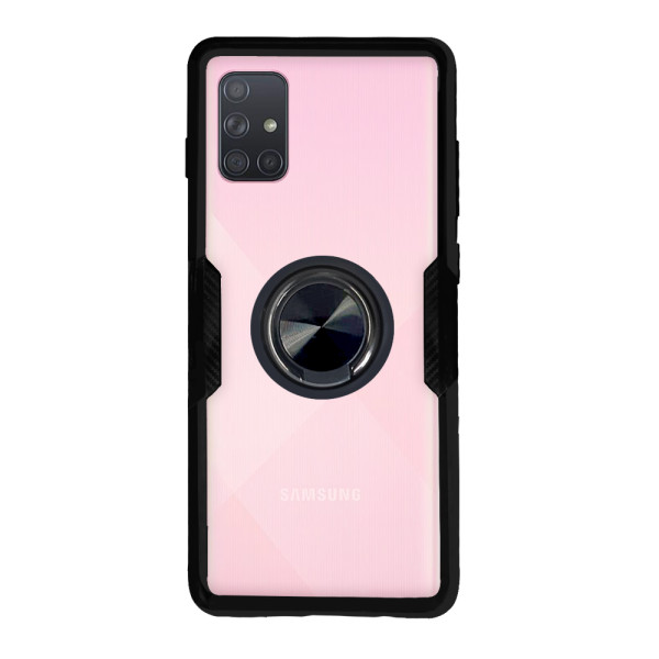 Compatible Ring Cover Case For Samsung Galaxy A71 SM-A715F