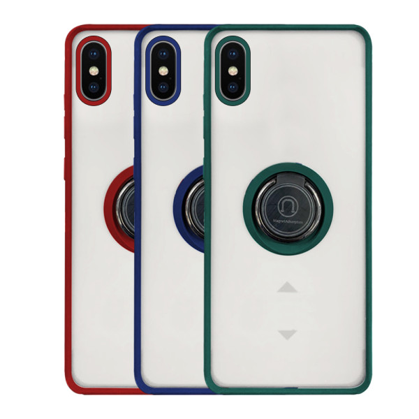 Compatible Shadow Ring Protective Case For iPhone XS