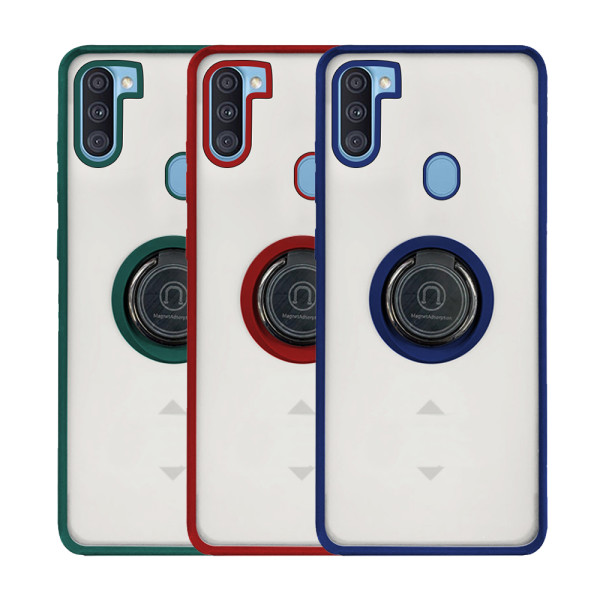 Compatible Shadow Ring Protective Case For Samsung Galaxy A11